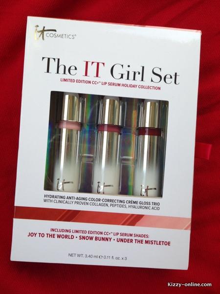 it Cosmetics Girl Set Holidays Holiday Lip Serum Collection