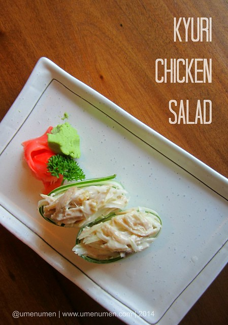 Kyuri Chicken Salad