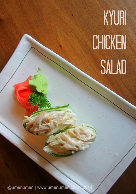 Kyuri Chicken Salad