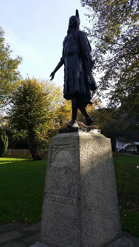 Pocahontas, buried here #ERHtoGRV #sh