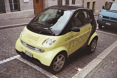 automobile, vehicle, electric car, city car, land vehicle, electric vehicle,