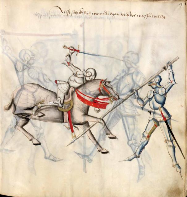 002-Kal Paulus Fechtbuch gewidmet dem Pfalzgrafen Ludwig- BSB Cgm 1507- Bayerische StaatsBibliotehek