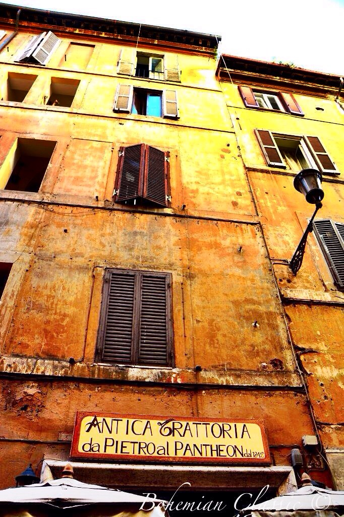 Old House in Rome