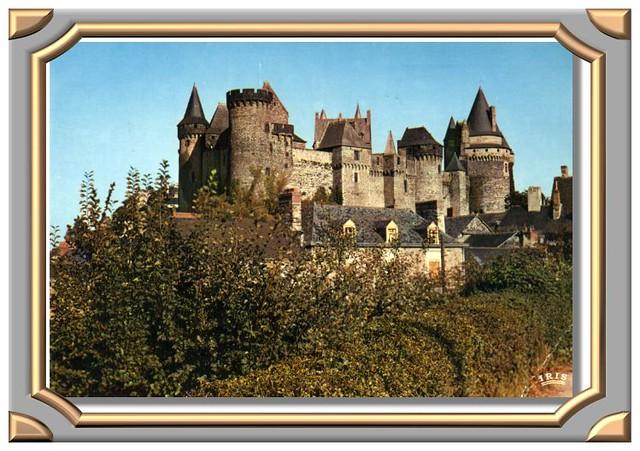 VITRÉ 1583 - Le Château, vue générale