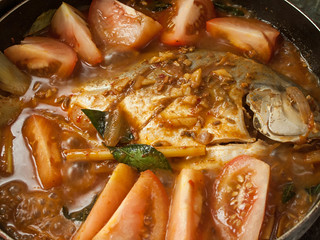022 Cooking assam fish
