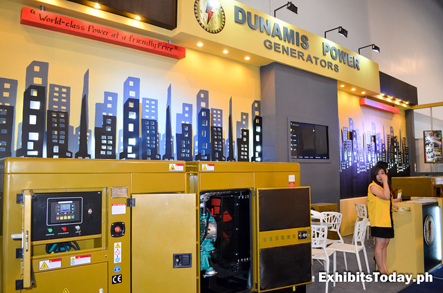 Dunamis Power Generators Trade Show Booth