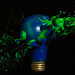 Paint Bomb_Blue and Green by WideEyedIlluminations