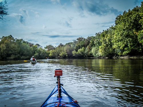 Savannah River from Stokes Bluff with LCU Nov 7, 2014, 4-18 PM Nov 8, 2014, 1-42 PM