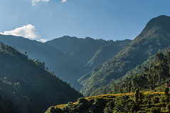 Hills surrounding Kathmandu