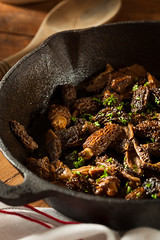Organic Sauteed Morel Mushrooms