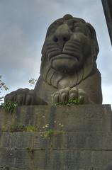 Britannia Bridge lion statue