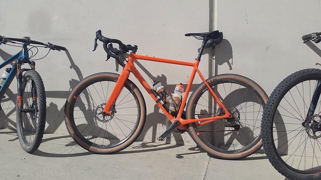 Orange bike love!