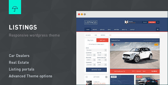Listings WordPress Theme free download