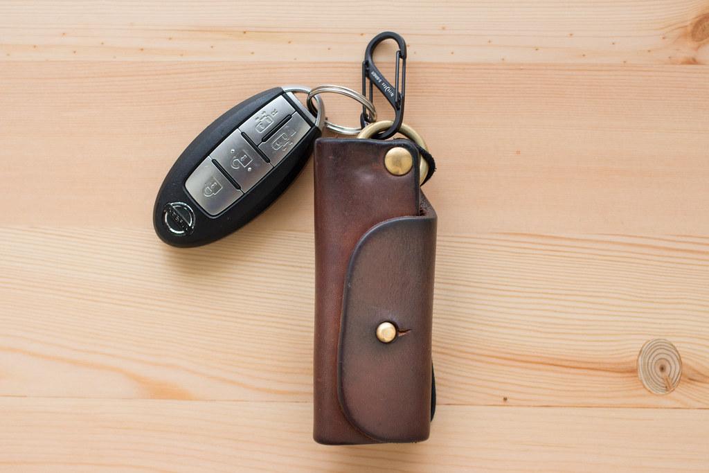 キーケースとカラビナ&車のキー