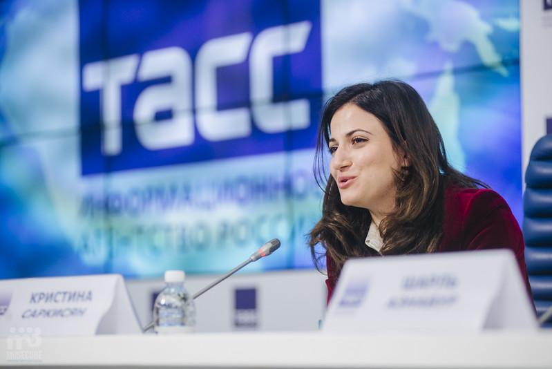 Шарль Азнавур пресс-конференция ТАСС (15)