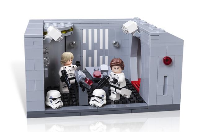星際大戰40週年展場限定!Star Wars Celebration Exclusive「LEGO Star Wars Detention Block Rescue」!
