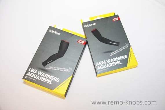 GripGrab AquaRepel Arm and Leg Warmers 7122