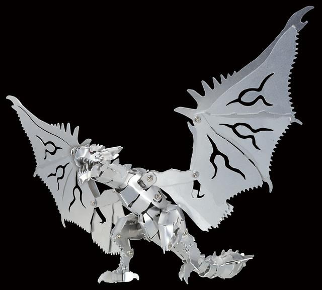 學研xCAPCOM《魔物獵人》金屬系列 雄火龍 / 夫魯夫魯 モンスターハンター メタル 「リオレウス」/「フルフル」