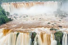 Foz do Iguaçu Falls - border of Argentina & Brasil
