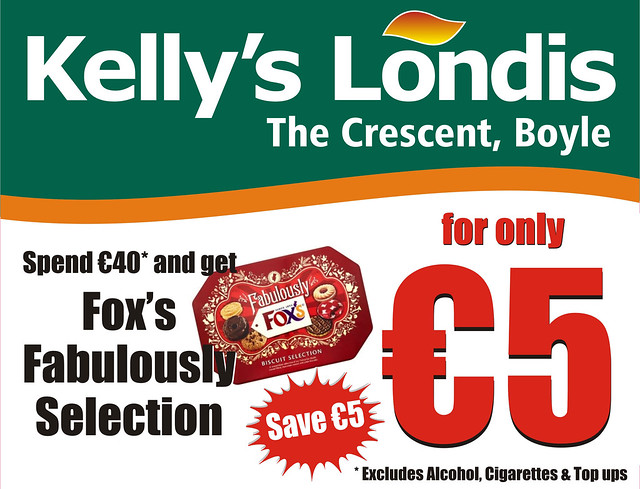 FOXS BISCUITS - Kelly's Londis