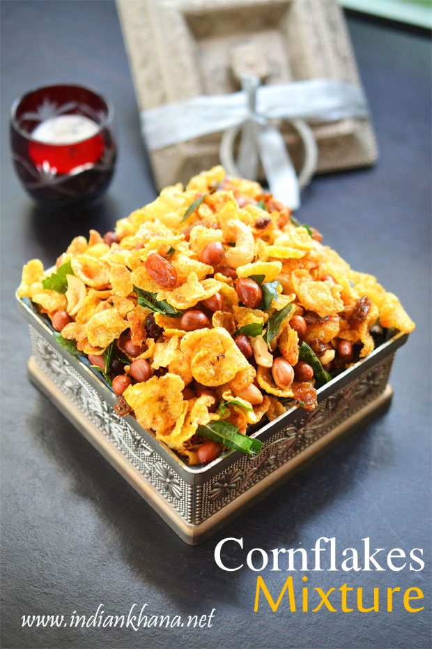 Cornflakes-Mixture-Chivda-Recipe