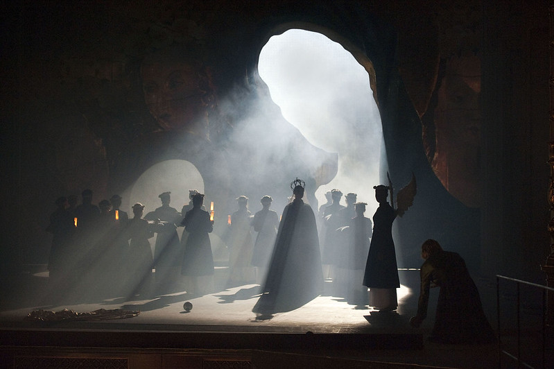 The Miracles of Mary by Bohuslav Martinů, Lights: Daniel Tesař, photo by Diana Zehetner