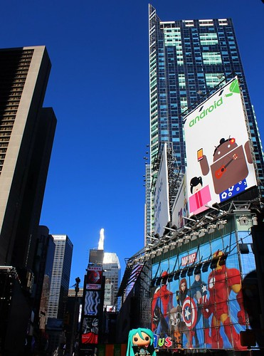 Funko Miku @ Times Square