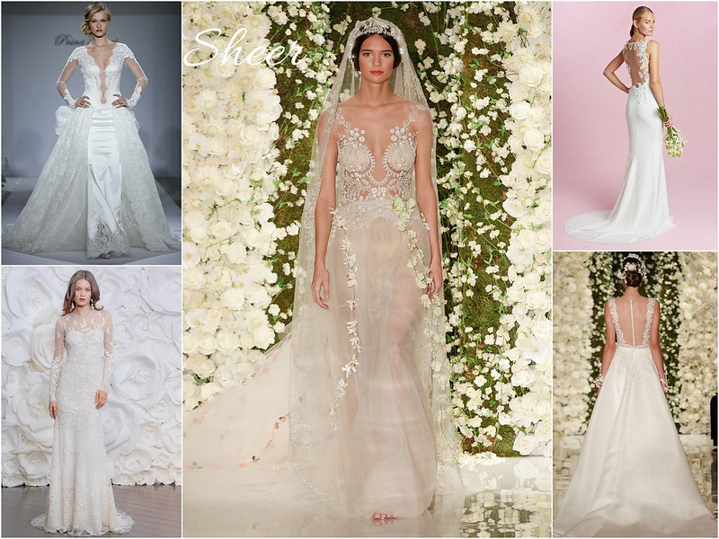 Fall 2015 bridal week trends - sheer