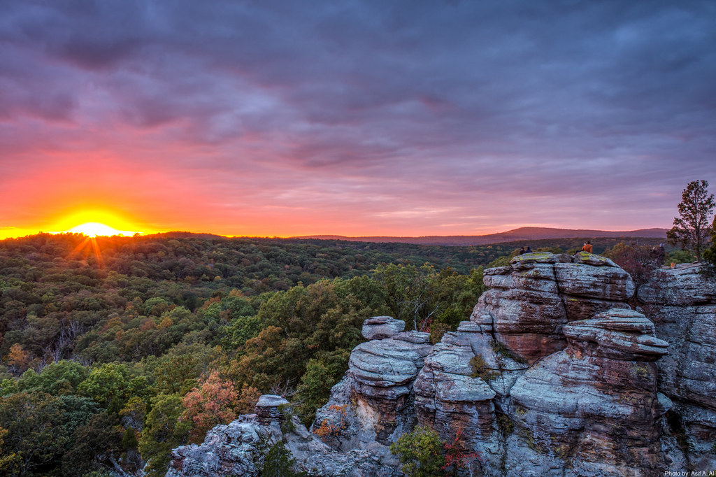Garden of the Gods, Shawnee National Forest.