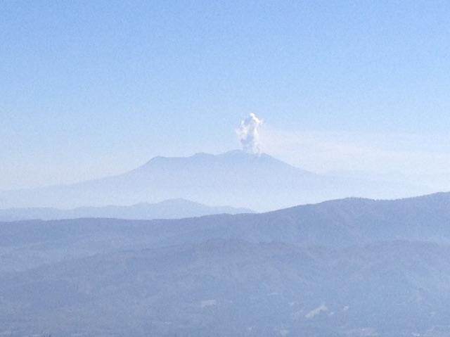 大日ヶ岳山頂からの眺望 御嶽山