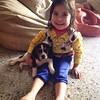 #PeteteVivas y mi Bárbara posando a la cámara. #Beagle