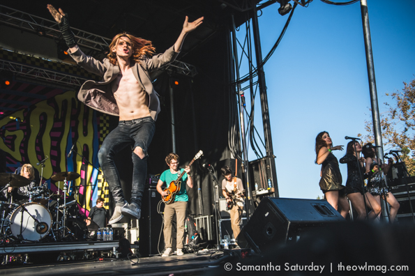 Foxygen @ Beach Goth 3, 10/25/14
