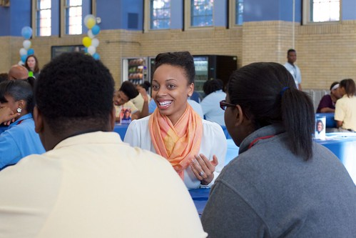 Mentor Breakfast at Perspectives High School of Technology