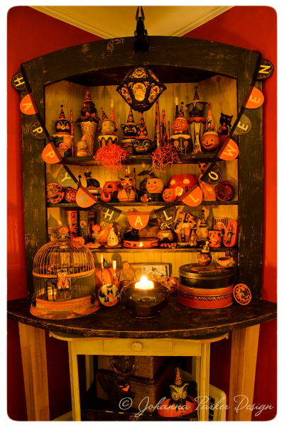 Halloween-Folk-Art-Corner-Cupboard