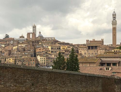 Vistas de Siena desde Basilica di Santa Maria dei Servi