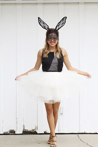 lucky magazine contributor,fashion blogger,lovefashionlivelife,joann doan,style blogger,stylist,what i wore,my style,fashion diaries,outfit,space 46 boutique,tulle skirt,halloween,happy halloween,elliatt,infinity creative,lace bunny ears,fashion for less,ebay,costume ideas