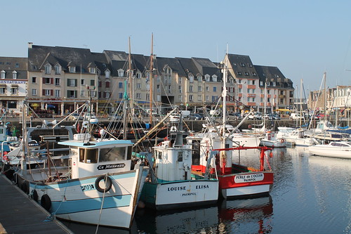 Fishng boats, Port de Paimpol