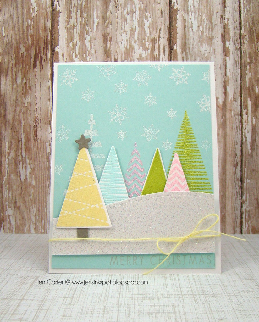 Jen Tremendouse Triangles Christmas