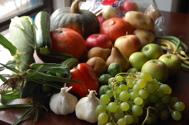 Fall Farmer's Market Haul
