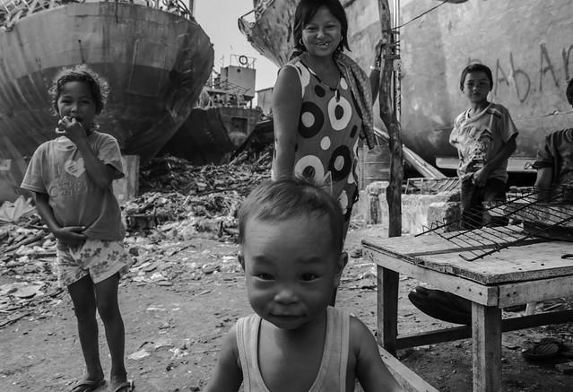 Despite destruction, Tacloban, Philippines