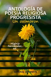 Portada Antología de Poesía Religiosa Progresista - Higinio Fernández
