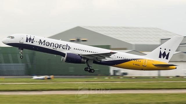 Monarch Airlines, B757, G-MONJ