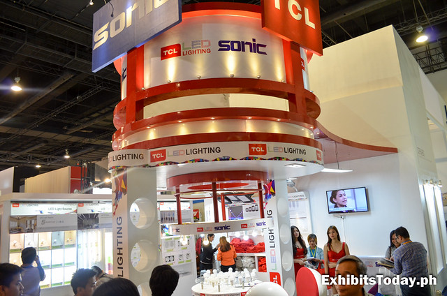 Sonic TCL Exhibit Stand