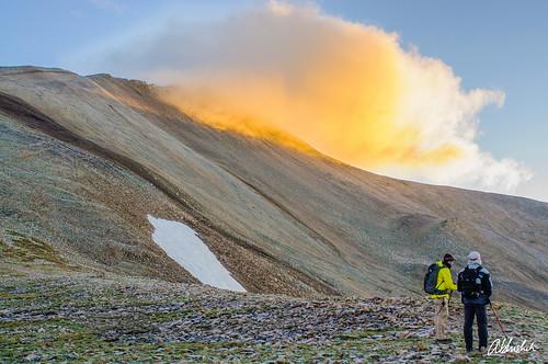 camping clouds landscape colorado unitedstates hike 14er fairplay mountsherman nikond90