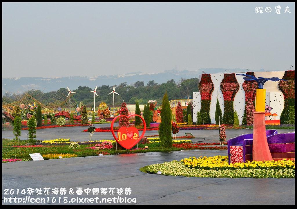 2014新社花海節&臺中國際花毯節DSC_4878