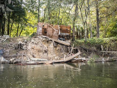 Savannah River from Stokes Bluff with LCU Nov 7, 2014, 4-18 PM Nov 8, 2014, 11-053