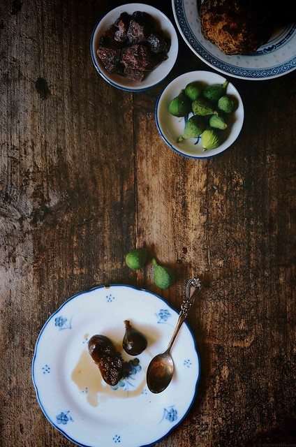 Baby fig spoon sweet with jaggery and black Indian salt | A Brown Table