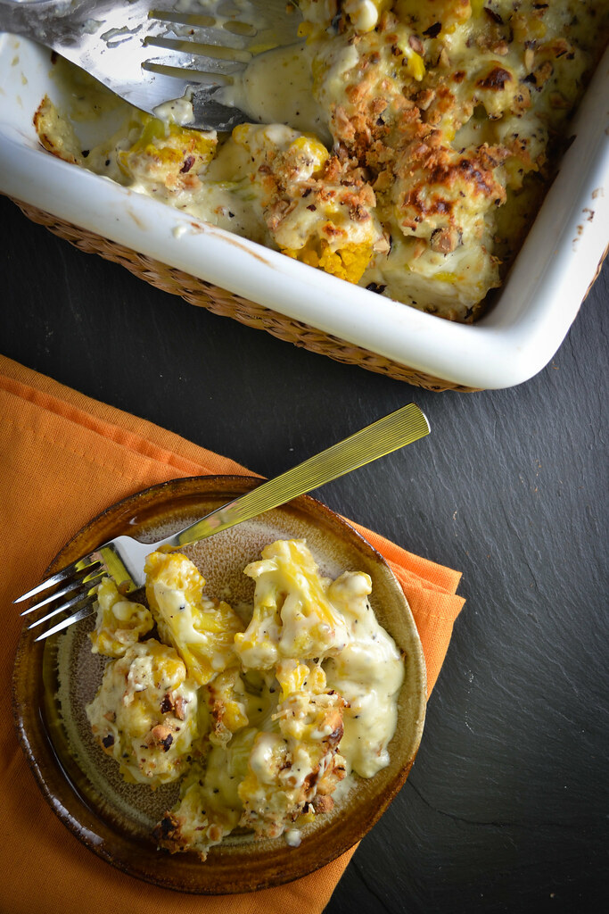 Cauliflower Gratin with Mornay Sauce | Things I Made Today