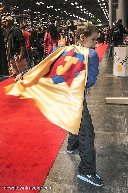 NY Comic Con 2014 Justice Man