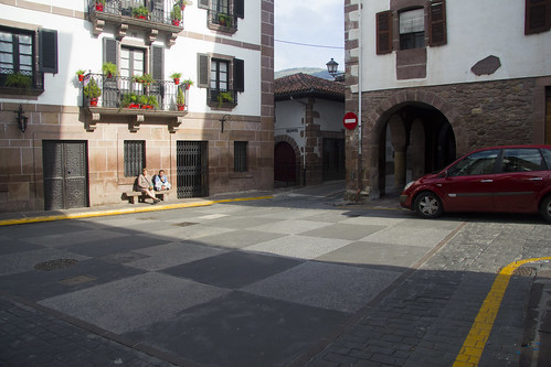 Calle Jaime Urrutia en Elizondo